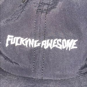 RARE Fucking Awesome hat🖤🏴‍☠️